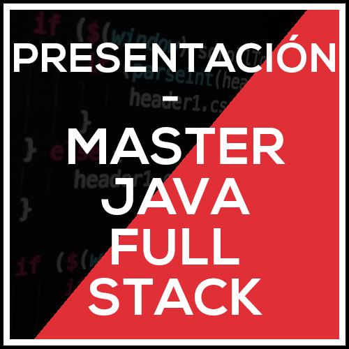 presentacion master full stack online