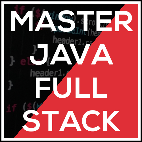master full stack java developer